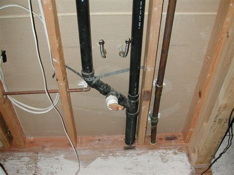possible ways to vent a bathroom sink drain pipe bathroom