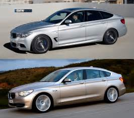 photo comparison bmw 3 series gt vs bmw 5 series gt
