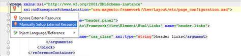 magento certificat layout xml schema xml schema resolution in php storm with magento2 urns