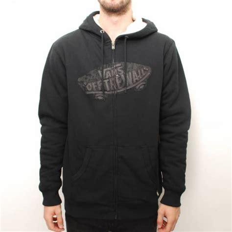 Hodie Sweter Vans Pulka Skate Black vans sherpa lined zip hoodie black hooded tops from skate store uk