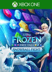 frozen free fall: snowball fight is now available for xbox
