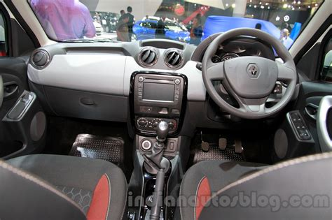 renault duster 2014 interior renault duster awd launch on september 24 shown at iims