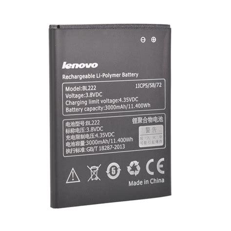 Baterai Lenovo S660 Bl222 Original 3000mah lenovo bl222 replacement battery for lenovo s660
