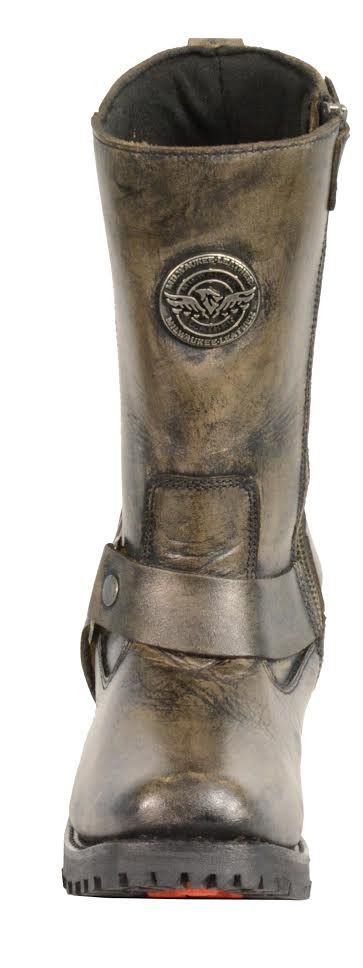 womens brown leather motorcycle boots s distressed brown motorcycle boots genuine leather