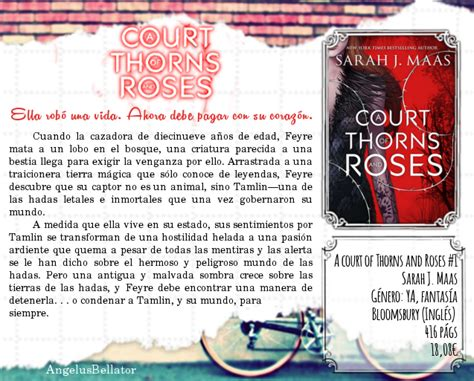 libro a court of thorns entre relatos y versos mis libros a court of thorns and roses sarah j maas