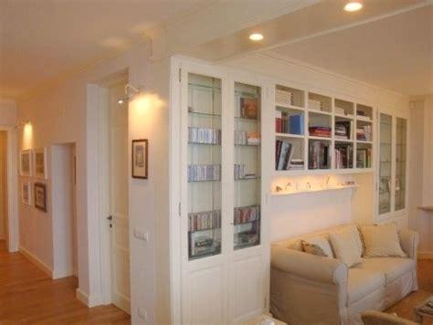 librerie moderne bianche arredare casa falegnameria artigiana arredamenti su misura