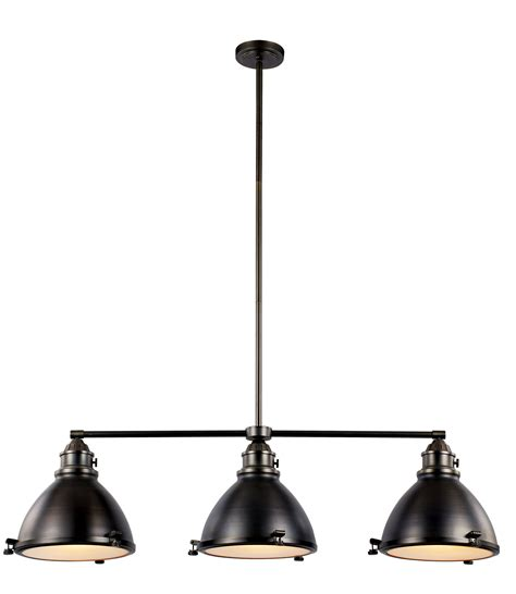 Transglobe Lighting Vintage 3 Light Kitchen Island Pendant Pendant Island Lights