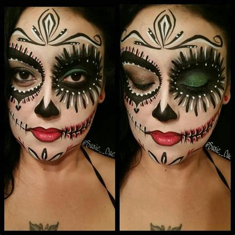 makeup dia dia de los muertos day of the dead makeup maquillaje