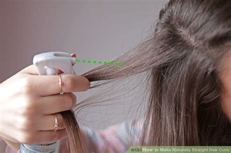 4 ways to make naturally straight hair curly wikihow 4 ways to make naturally straight hair curly wikihow