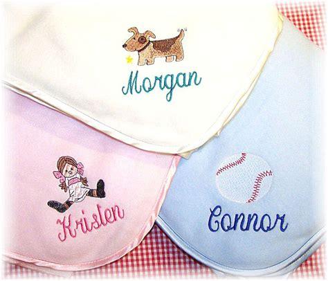 Custom Embroidered Fleece Blankets by Personalized Fleece Baby Blankets