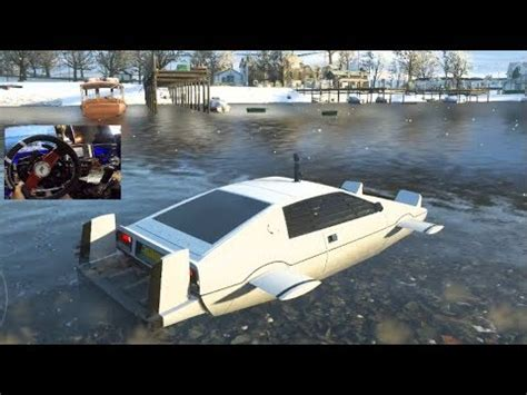 boat car forza horizon 4 forza horizon 4 water car james bond car pack