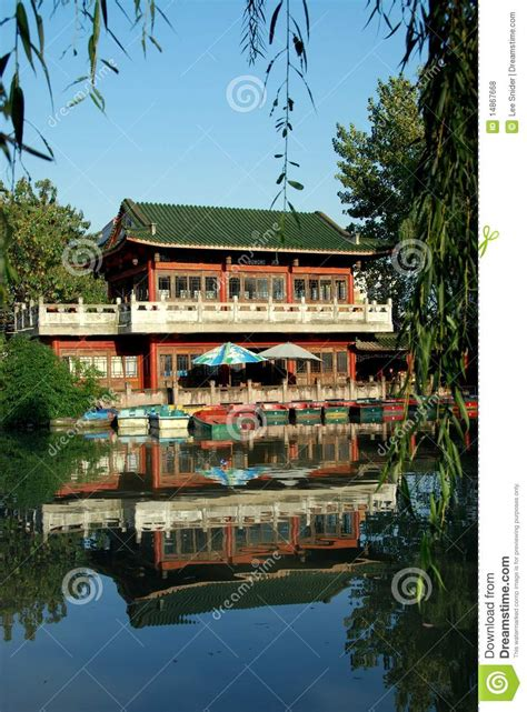 china tea house pengzhou china pengzhou park tea house editorial stock photo image 14867668