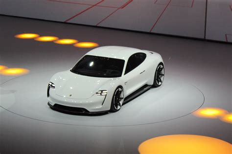 porsche prototype 2015 will the tesla inspired porsche mission e be built and
