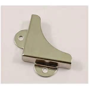 bathroom mirror fixings mirror corner clips nickel 4 pack