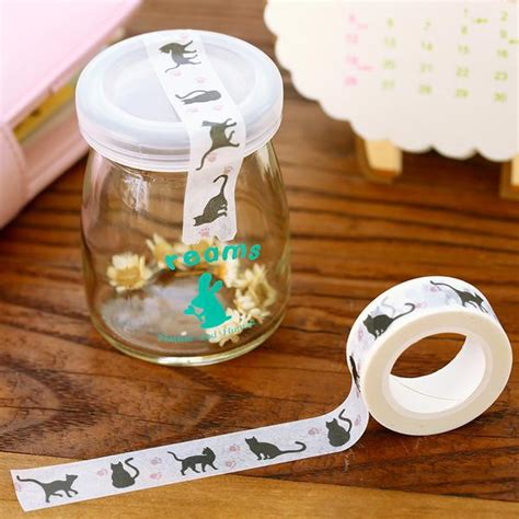 Cat Masking get cat decorative washi with best cat gift