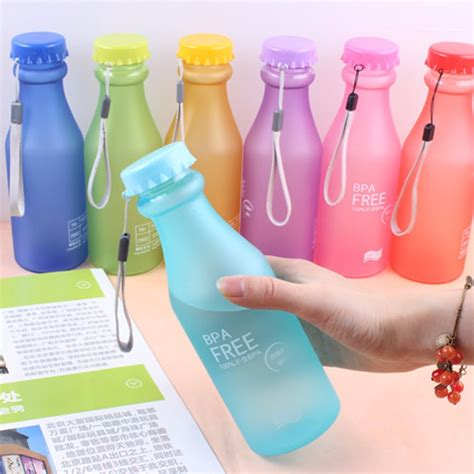 Botol Minum Plastic Cup Leakproof Bottle 410ml eco friendly reusable bottle kidsbaron family and baby supplies