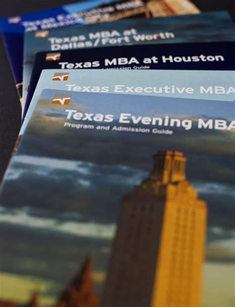 Mccombs Mba Brochure by Thewmatt Design Portfolio The Of