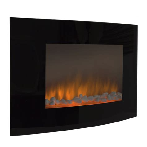 fireplace wall heater large 1500w heat adjustable electric wall mount fireplace