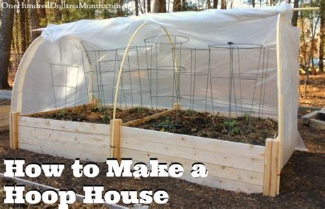 hoop house how to make a hoop house picture tutorial