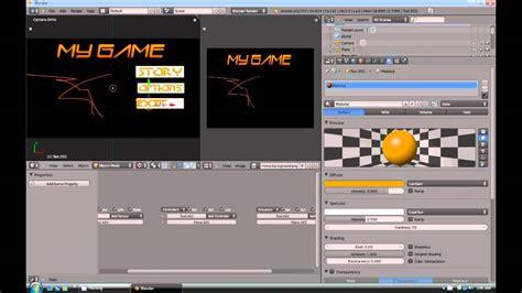 construct 2 menu tutorial blender 2 59 tutorial how to make a menu for your game
