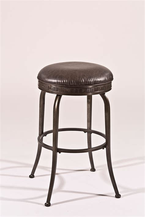pewter bar stools hillsdale harper backless swivel bar stool weathered
