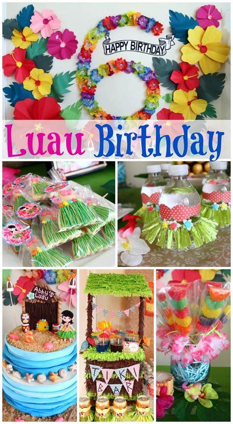 birthday themes hawaii 25 best ideas about hawaiian birthday cakes on pinterest