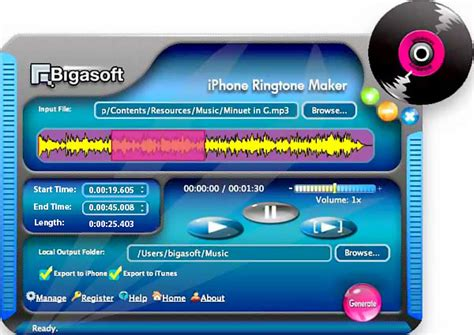 iphone ringtone maker make custom ringtone for iphone 5s 5c5 4s 4 3g 3gs