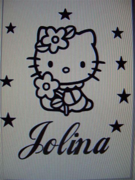 Hello Kitty Aufkleber Auto Heckscheibe by Hello Kitty Wandtattoo Wandsticker Autoaufkleber Name