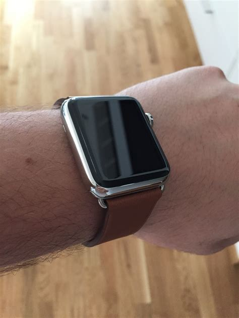 Apple Classic Saddle Brown Leather Hoco Calf Leath 15 saddle brown classic buckle macrumors forums