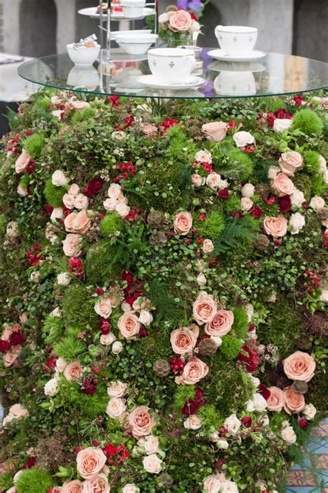 rhs chelsea flower show   hotel floristry