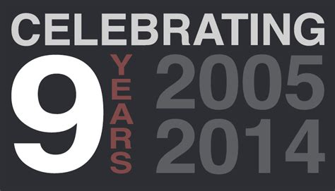 9 in years iceberg web design celebrating 9 years in business