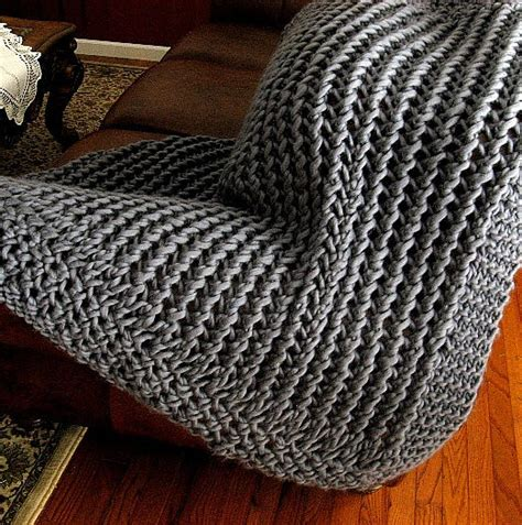 knitting pattern throw chunky easy afghan knitting patterns in the loop knitting