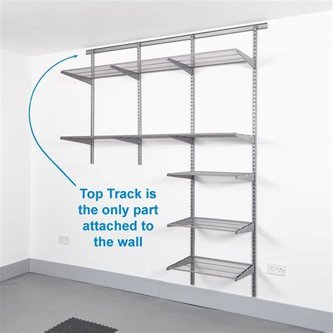 Aktualisierte Badezimmer Ideen by Wall Bracket Shelving System 2 Tier Adjustable