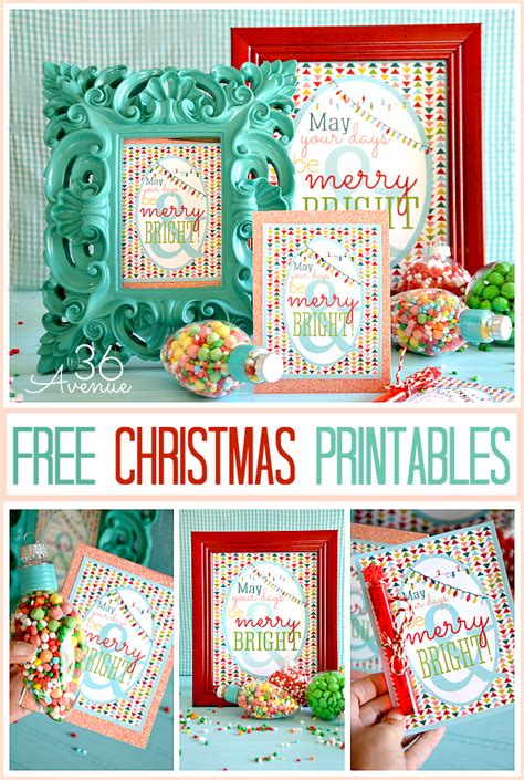 free christmas printables the 36th avenue