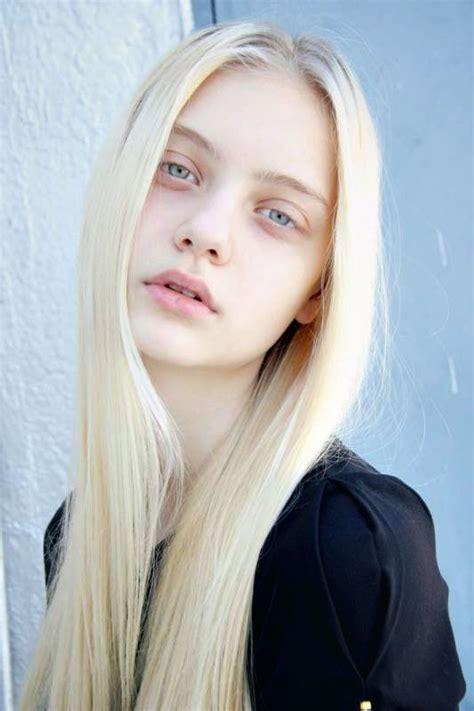really young no hair yet nastya kusakina women portraits pinterest pale