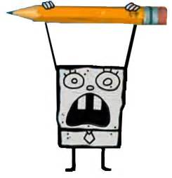 how to draw doodlebob doodlebob on
