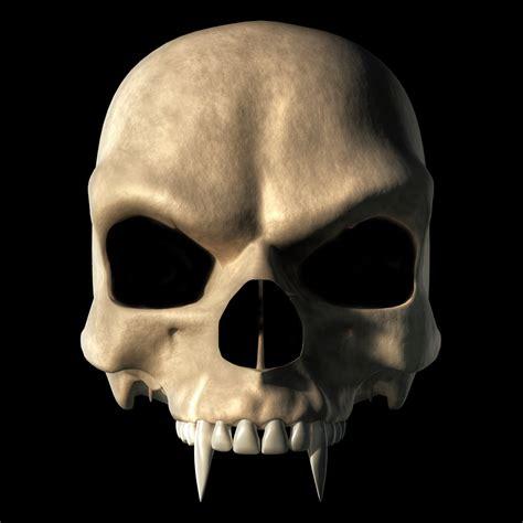 vampire skull by deskridge on deviantart