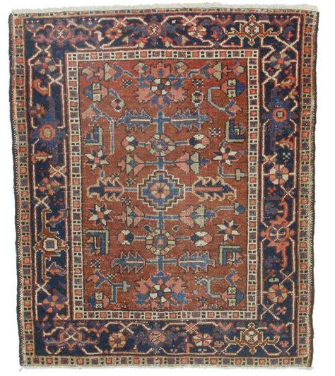 4 X 3 Rug by 3 X 4 Antique Karajeh Wool Rug 14278 Exclusive Rugs