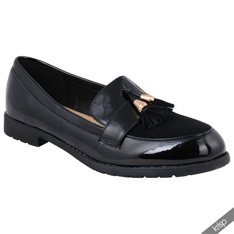 loafers womens womens suede patent leather loafers casual office