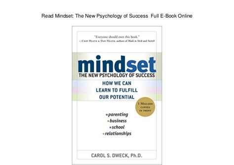 summary mindset the psychology of success mindset the psychology of success paperback summary hardcover audiobook book 1 books read mindset the new psychology of success e book
