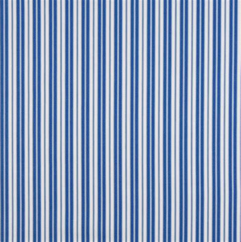 ticking upholstery fabric blue ticking stripe indoor outdoor marine acrylic