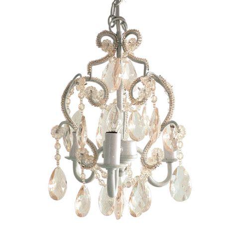 tadpoles chandelier tadpoles 3 light white mini chandelier cchapl010