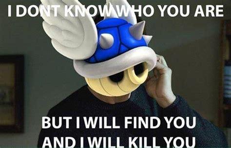 Mario Kart Blue Shell Meme - vh funny mario taken