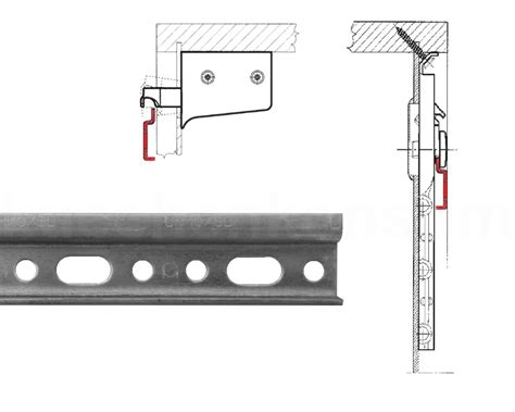 mounting kitchen wall cabinets aufhaengeschiene wall cabinet 48 mounting rail steel zinc