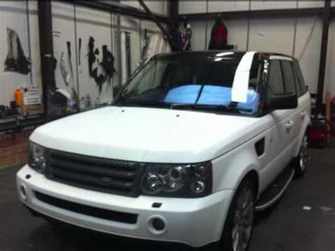 matte white range rover range rover matte white wrap youtube