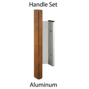 Sliding Patio Door Handles Sliding Glass Patio Door Handle Set Aluminum Wood Handle C 1019 Door Window Parts For