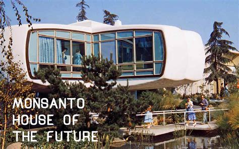 Monsanto House Of The Future by Monsanto House Of The Future 1957 Shadows Of Light
