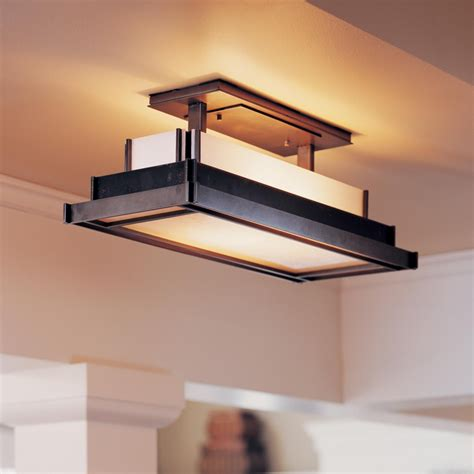 Ceiling Mounted Light Fixture Flush Mount Ceiling Kitchen Light Fixtures Buying Guide All Design Idea
