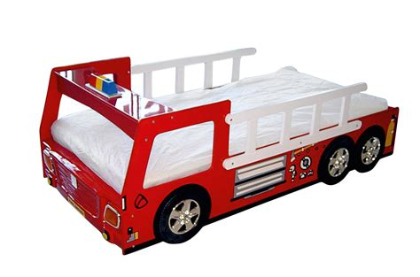 Bedroom Fire Truck Bunk Bed Fire Truck Bed With Slide Fireman Bunk Bed