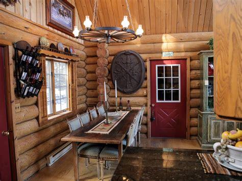 Hgtv Log Cabin Sweepstakes - log cabin living lake view cabin and woodsy retreat log cabin living hgtv